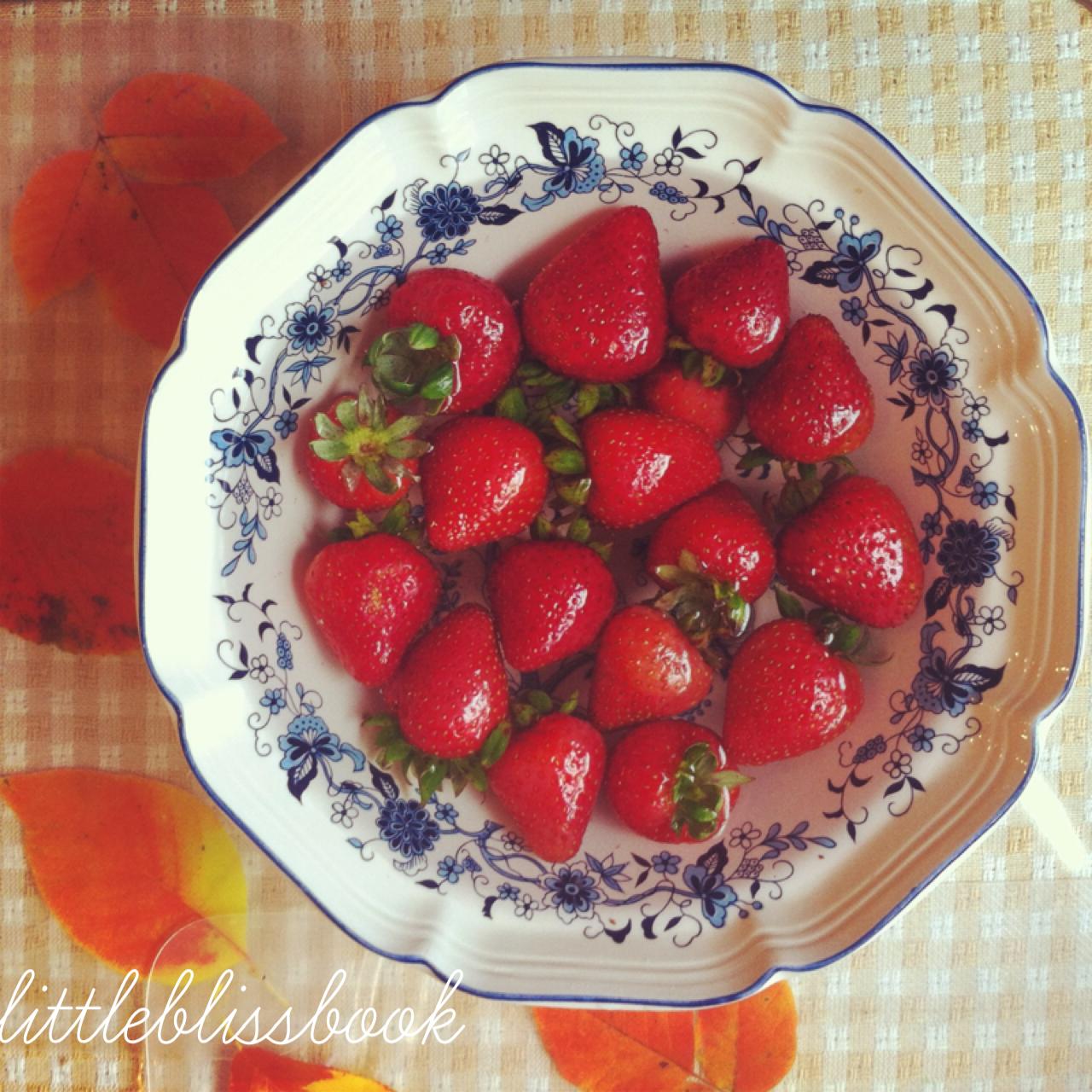 little bliss book fruits strawberries