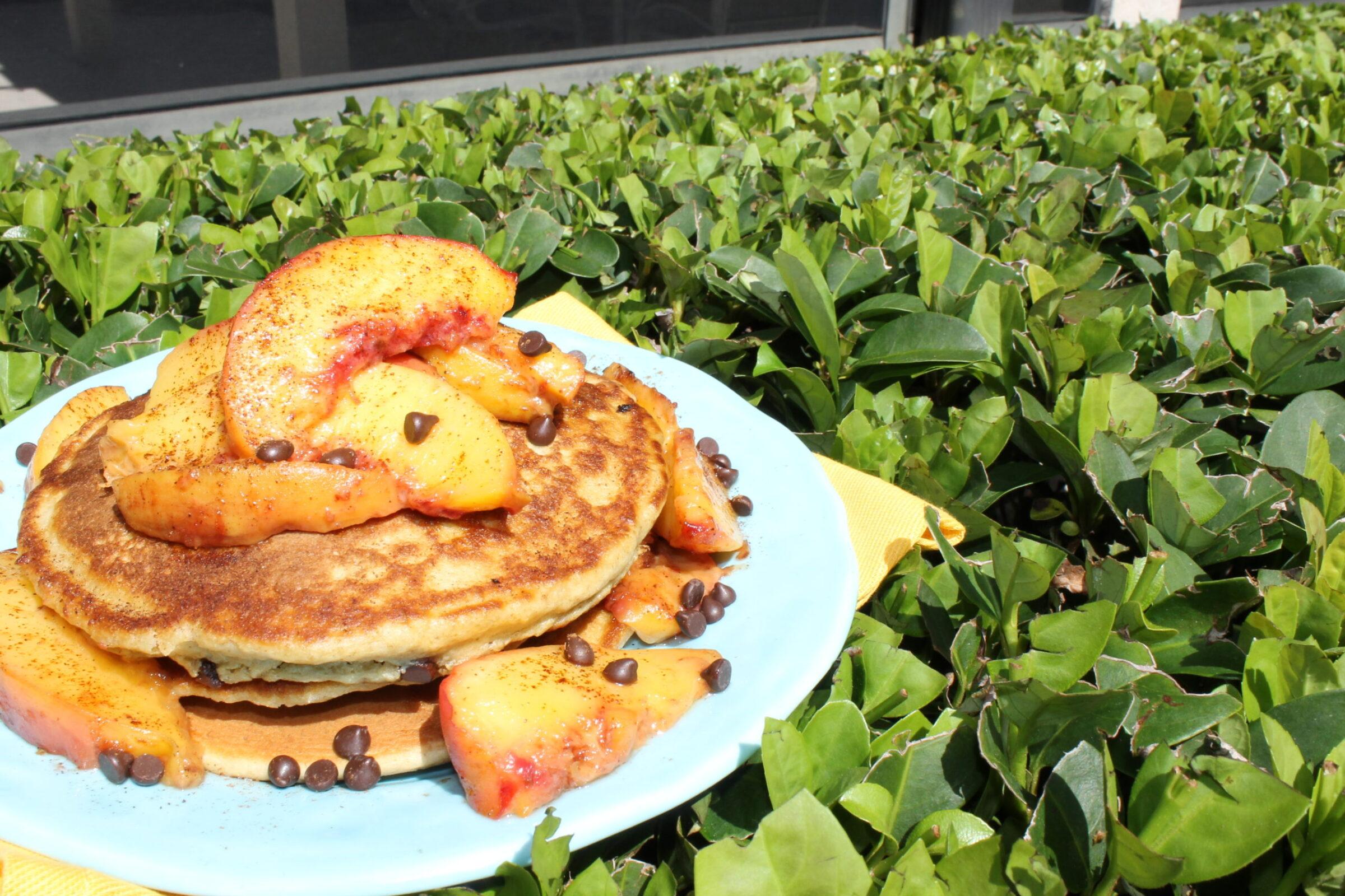 Healthy Glazed Peaches Recipe