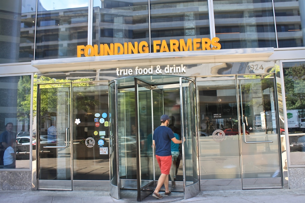 Founding Farmers Entrance