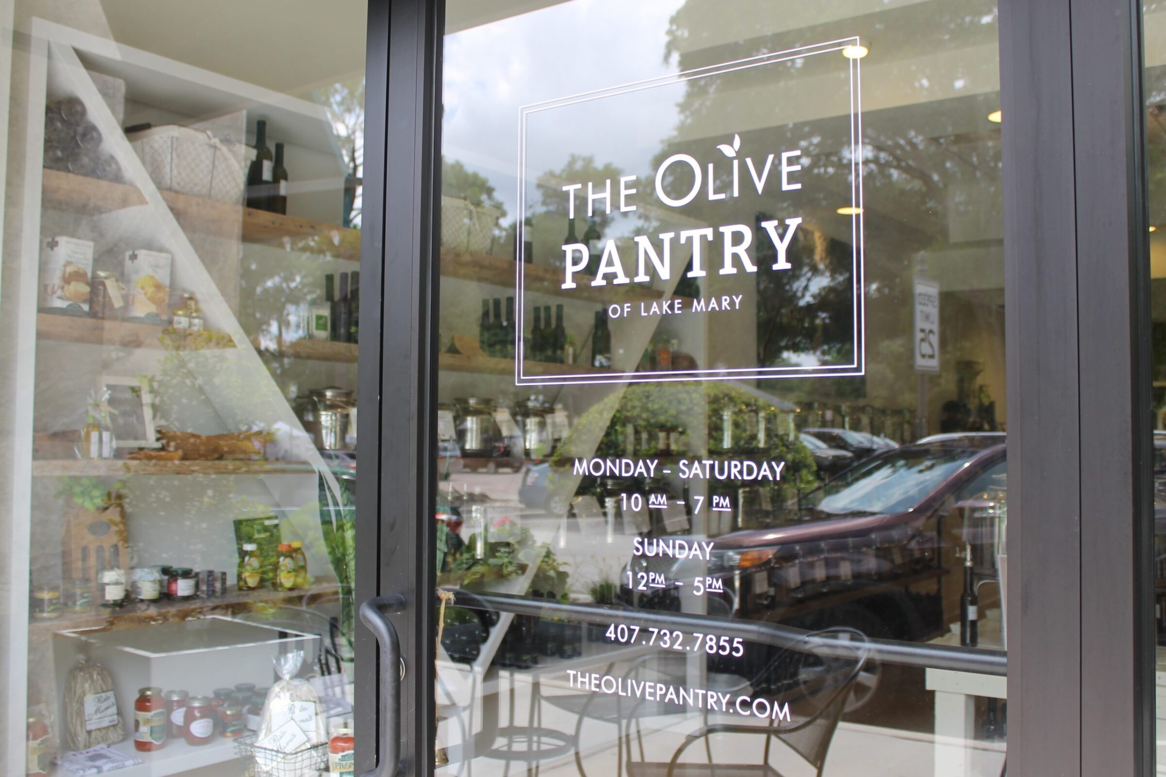 Olive Oil Pantry